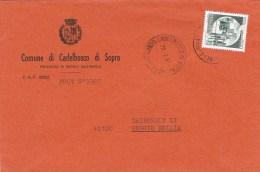 7304. Carta  CADELBOSCO Di SOPRA (Reggio Emilia) 1987 - 1981-90: Storia Postale
