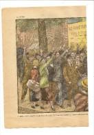Pèlerin 11 10 1936 Le Front Populaire Défense Dans La Rue Dessin Damblans - Unclassified