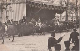 PARIS - Visite  De S. M.  EDOUARD  VII  -  Gare Des Invalides  -  Arrivée Du Roi. - Evènements