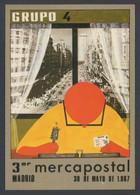 Madrid * III Mercapostal 1987* Ed. Grupo 4. Postal Nº 726. Nueva. - Bolsas Y Salón Para Coleccionistas