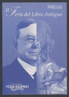 Madrid * II Feria Del Libro Antiguo 2004* Circulada 2004. - Bolsas Y Salón Para Coleccionistas