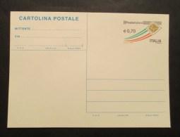Italia 2013 Cartolina Postale Poste Italiane 0,70 - 6. 1946-.. Repubblica