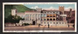 CC36 - CARTE PANORAMIQUE CHOCOLAT CANTALOUP CATALA - MONACO PALAIS DU PRINCE - Unclassified
