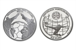 "PORTUGAL   2,50€   2.014  2014  Cu Ni   ""Mundial FIFA Brasil 2014""      UNCirculated     T-DL-10.725 - Portugal"
