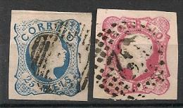 Portugal.  1855-1862. N° 6,15. Oblit. - Portugal