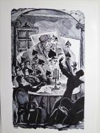 KRAVCHENKO. PUSHKIN . CARD PLAYERS - Carte à Jouer - Cartes - Playing Cards. OLD PC 1920s - Cartes à Jouer