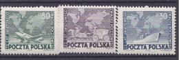 Poland1949: UPU Michel533-5mnh** - U.P.U.