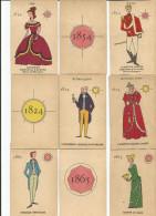 Jeu De Cartes Ancien, Mariages, Personnages, époque Sissi Impératrice, Costumes, Empire D'Autriche Hongrie - 19e Siècle - Jeux De Société