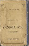 Géographie Des VOSGES , 17 Gravures Et Une Carte  De Adolphe Joanne - Livres, BD, Revues