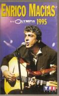 K7,VHS.Enrico MACIAS. à L'Olympia 1995.  22 Titres. - Concert Et Musique