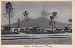 PC Napoli - La Litoranea Col Vesuvio - 1931 (0513) - Napoli (Nepel)