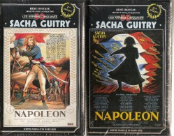 K7,2 VHS.René Chateau. NAPOLEON. Sacha GUITRY.  Epoques 1 & 2. Cassettes NEUVES Sous Cellophane - Histoire