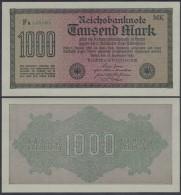 ALEMANIA GERMANY 1000 MARK 1922 PICK 76H SC UNC - [ 3] 1918-1933 : Weimar Republic