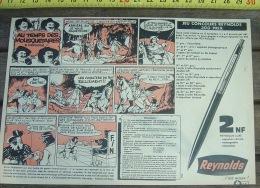 PUB PUBLICITE STYLO PLUME REYNOLDS LES 3 MOUSQUETAIRES - Collections