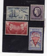 Nouvelle-Zélande (1957)  - >Terre De Ross Neufs** - Neufs