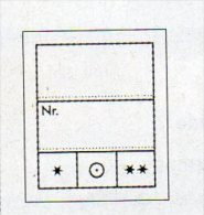 1000 Preis-Etiketten Klein 8€ Text 2-zeilig Kennzeichnung Von Münzen In Alben/Briefmarken In Steckkarten LINDNER #802024 - Zubehör