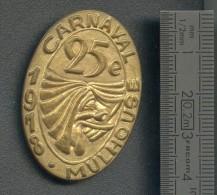 Médaille CARNAVAL MULHOUSE 1978 - Frankrijk