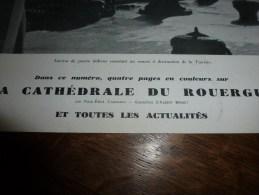 1943 Cathédrale De RODEZ Par Brenet; Les Fermes Du National-Socialisme ; Drame Au Pays CATHARE ; Cabaret Et Lastours - Zeitungen