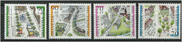 SUISSE 2000 - Pro Patria - Neuf Sans Charniere (Yvert 1638/41) - Neufs