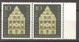 = BRD 1957 - Michel 279 ** = 2er - Unused Stamps