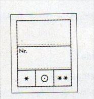 1000 Preis-Etiketten Klein 8€ Text 2zeilig Kennzeichnung Von Telecard Marken Münzen In Steckkarten/Alben LINDNER #802024 - Tarjetas Telefónicas
