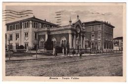 BRESCIA - TEMPIO VALDESE - 1944 - Brescia