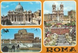 Rome 3 Views  Da Fotocolour Kodak Ekachrome Plurigraf Terni No  630 - Roma (Rome)