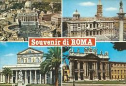 Souvenir Di Roma 4 Views  Da Fotocolour Kodak Ekachrome Plurigraf Terni No  644 - Roma (Rome)