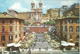 Spain's Square & The Trinita Dei Monti  Da Fotocolour Kodak Ekachrome Plurigraf Terni No  258 - Roma (Rome)