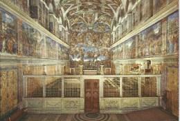 Vaticano Interno Cappella Sistina  Da Fotocolour Kodak Ekachrome Plurigraf Terni No  307 - Churches