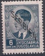 Germany Occupation Of Serbia - Serbien 1941 Mi#10 Mint Never Hinged - Besetzungen 1938-45
