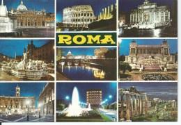 Roma 9 Views  Copyright By Plurigraf Narni (TR)  Italy Plurigraf Terni No 424 Used To Australia - Roma (Rome)
