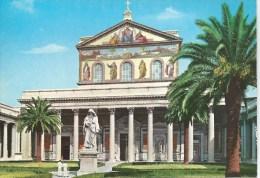 St. Paul's Basilica  Da Fotocolour Kodak Ekachrome Plurigraf Terni No 218 Unused Front & Back Shown - Churches