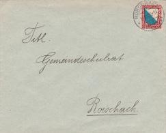 Pro - Juventute  1920 : No J16 Sur Lettre Oblitérée RORSCHACH Le 16.12.1920 - Briefe U. Dokumente