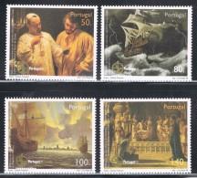 PORTUGAL 1998 500 ANOS DA DESCOBERTA DO CAMINHO MARÍTIMO PARA A ÍNDIA   500 YEARS OF DISCOVERY OF MARITIME WAY FOR INDIA - Unused Stamps