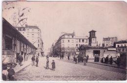 560- PARIS - Place D'Aligre Et Marché Lenoir - Ed. C.L.C. - Arrondissement: 12