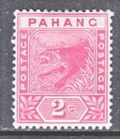 PAHANG  12   *   FAUNA  TIGER - Pahang