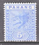 PAHANG  13   *   FAUNA  TIGER - Pahang