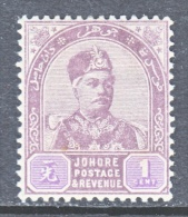 JOHORE  18    * - Johore