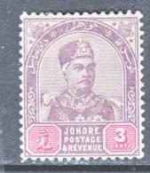 JOHORE  20    * - Johore
