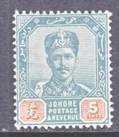 JOHORE  42    *    Wmk  71 - Johore
