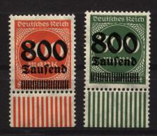 D.R,VII,VIII,mit Falz (5670) - Deutschland