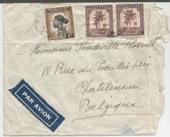 CB  2 X 252 Et 1 X 237, Verso 2 Blocs 4 N° 237 Jadotville à Charleroi - 1923-44: Briefe U. Dokumente