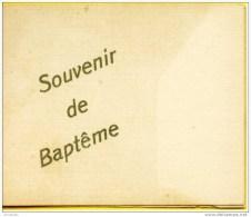 Faire-part De Naissance/baptème : Georgette, Dampremy 1922 - Geburt & Taufe