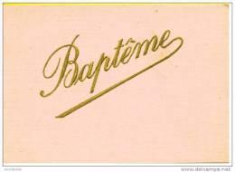 Faire-part De Naissance/baptème : Fernand, Roux 1930 - Geburt & Taufe
