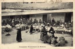 Bolivie Compania Huanchaca De Bolivie Carte Précurseur Avant 1905 Adressée Sur Angers En France - Bolivia