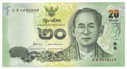 Tailandia - 20 Bath, - Tailandia