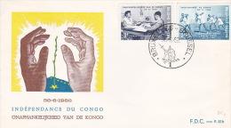 Belgium 1960 Congo Independence FDC - FDC