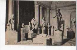 Paris Musee Du Louvre Salle De Houdon - Musea