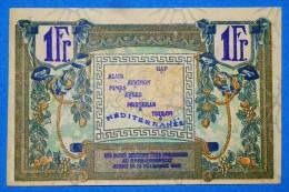 CHAMBRE De COMMERCE Région PROVENCALE 1 Fr  Série 35 Du 31 Décembre  192?  Banque Billet  Paper Money Port Gratuit - Chambre De Commerce